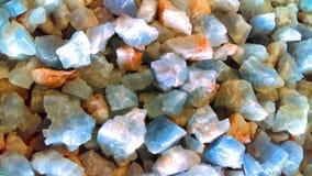 Fondo delle pietre preziose Fotografia Stock Libera da Diritti