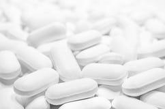Fondo delle pillole Fotografia Stock