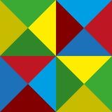 Fondo delle piramidi di colore Immagini Stock