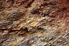 Fondo delle rocce fragili Immagini Stock