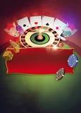Fondo delle roulette Fotografia Stock