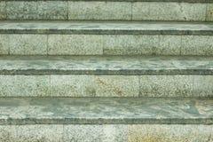 Fondo delle scale fatte di granito Immagini Stock Libere da Diritti