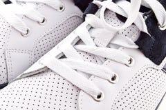 Fondo delle scarpe da tennis Fotografia Stock Libera da Diritti