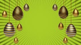fondo delle uova di Pasqua di 3d royalty illustrazione gratis