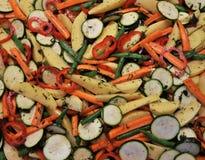 Fondo delle verdure succose miste Fotografie Stock Libere da Diritti