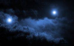 Fondo dello spazio. Fotografia Stock Libera da Diritti