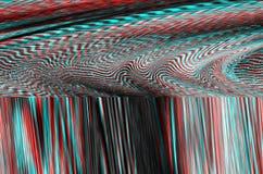Fondo dello spazio di impulso errato Vecchio errore dello schermo della TV Progettazione dell'estratto di rumore del pixel di Dig Immagine Stock