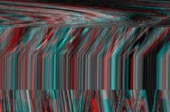 Fondo dello spazio di impulso errato Vecchio errore dello schermo della TV Progettazione dell'estratto di rumore del pixel di Dig Fotografia Stock Libera da Diritti