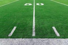 Fondo dello stadio di football americano immagini stock