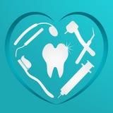 Fondo dental, médico Fotografía de archivo