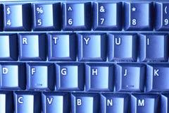 Fondo detallado del teclado de ordenador Fotos de archivo libres de regalías