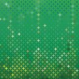 Fondo detallado verde abstracto del vector Foto de archivo libre de regalías