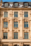 Fondo - detalle histórico del edificio Foto de archivo