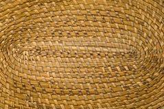 Fondo dettagliato di struttura della paglia di legno di Brown Immagine Stock Libera da Diritti
