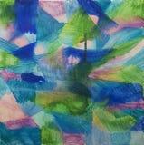 Fondo di Abstrct su tela Fotografia Stock