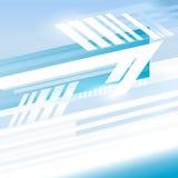 Fondo di affari di rapporto di moto della copertura del fondo della freccia illustrazione di stock