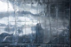 Fondo di alluminio Fotografia Stock