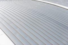 Fondo di alluminio del tetto dello strato Fotografia Stock Libera da Diritti