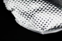 Fondo di alluminio delle mattonelle Fotografie Stock Libere da Diritti