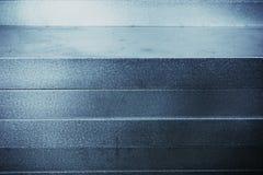 Fondo di alluminio di struttura Fotografie Stock