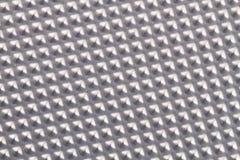 Fondo di alluminio di struttura del metallo Immagine Stock