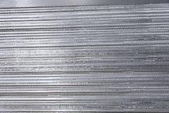 Fondo di alluminio Fine di struttura dell'acciaio inossidabile su Immagine Stock Libera da Diritti