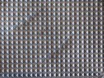 fondo di alluminio grigio di struttura del metallo Fotografia Stock