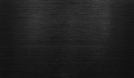 Fondo di alluminio lucidato il nero Immagini Stock
