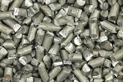 Fondo di alluminio macinato del cavo Fotografie Stock Libere da Diritti