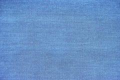 Fondo di alta risoluzione del tessuto del cotone del primo piano del panno di struttura blu del fondo per progettazione fotografia stock libera da diritti