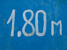 Fondo di altezza Fotografie Stock Libere da Diritti