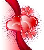 Fondo di amore Immagine Stock