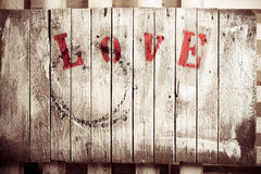 Fondo di amore Immagini Stock