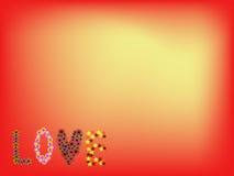 Fondo di amore illustrazione vettoriale