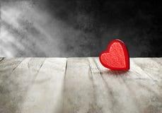 Fondo di amore del cuore Fotografia Stock Libera da Diritti