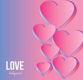 Fondo di amore Rosa rossa immagini stock libere da diritti