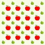 Fondo di Apple - modello di vettore Fotografia Stock