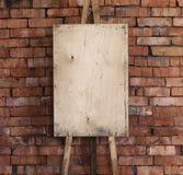 Fondo di arte del cavalletto Fotografia Stock Libera da Diritti