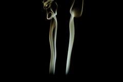 Fondo di arte del fumo Immagine Stock