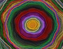 Fondo di arte del pianeta della maglia Immagine Stock Libera da Diritti