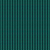 fondo di arte di illusione ottica carta da parati da tavolino nera e blu Disegno grafico Reticolo senza giunte Vettore che ripete Fotografie Stock