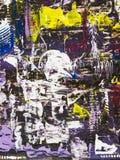 Fondo di astrattismo, pittura di struttura Fotografia Stock Libera da Diritti