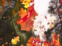 Fondo di astrattismo, pittura di struttura Fotografia Stock
