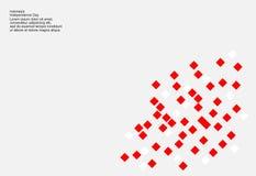 Fondo di 17 August Indonesia Independence Day Illustrazione di vettore delle bandiere illustrazione vettoriale