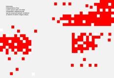 Fondo di 17 August Indonesia Independence Day Illustrazione di vettore delle bandiere illustrazione di stock