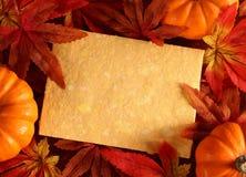 Fondo di autunno Fotografie Stock