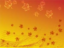 Fondo di autunno Royalty Illustrazione gratis