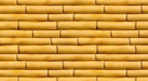 Fondo di bambù del recinto Immagini Stock Libere da Diritti