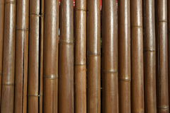 Fondo di bambù del recinto Fotografia Stock Libera da Diritti