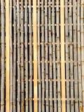 Fondo di bambù del recinto Immagini Stock
